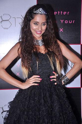 Anusha Dandekar - Dandekar at the launch of her first single