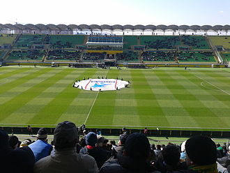 Makhachkala - Anzhi Arena is home of FC Anzhi Makhachkala of the Russian Premier League