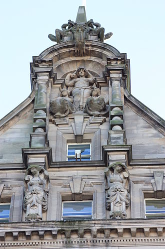 The Scotsman - Apex of the Scotsman Offices of 1899