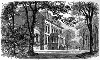 Marcus T. Reynolds - Image: Appletons' Van Rensselaer Killian 1765 mansion