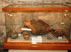Church of Kish - Objects found on the site of the church dating to the end of 4000 B.C. and beginning of 3000 B.C.