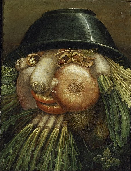 Vegetable Portrait - the Green Grocer
