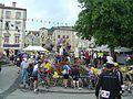 Ardéchoise 2010- ravito Saint-Martin de Valamas.JPG