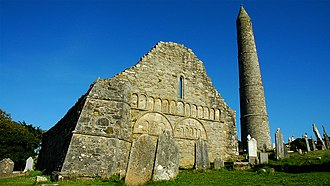 Ardmore, County Waterford - Ardmore old cathedral