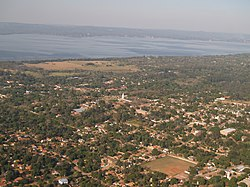 Aerial view of Areguá