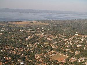Areguá - Aregua landscape