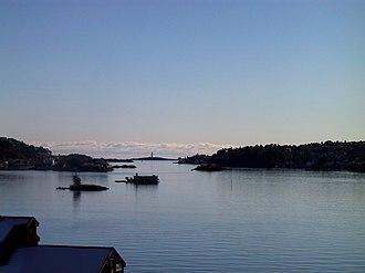 Tromøy - Image: Arendal Galtesund z
