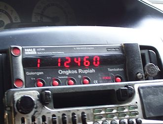 Taximeter - Indonesian taximeter