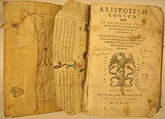 History of logic - Aristotle's logic was still influential in the Renaissance