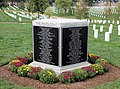 Arlington National Cemetery - 9-11 Memorial to Pentagon Victims - SW side - 2011.jpg