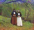 Armenian Catholic women in customary dress.jpg