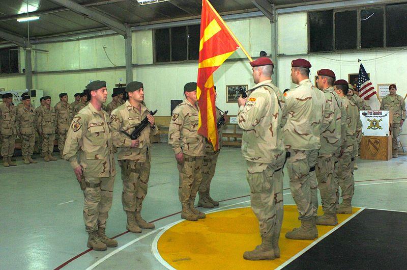 Armée de la République de Macédoine du Nord  / Army of the Republic of North Macedonia (ARSM)  800px-Army.mil-2007-12-14-181154