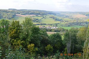 Arnay-sous-Vitteaux - View over Arnay-sous-Vitteaux