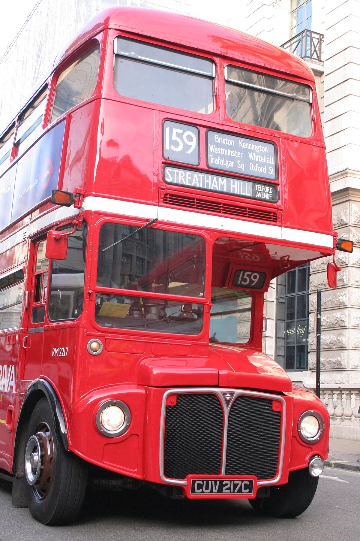 Routemaster bus RM2217 - Wikimedia Commons
