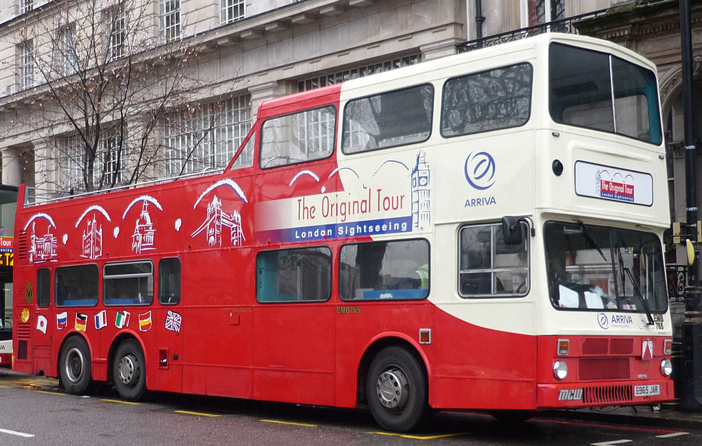 Liverpool Tour Bus Anfield