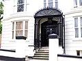 Art Nouveau style door shelter, Brighton - geograph.org.uk - 2450738.jpg