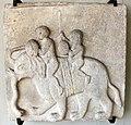 Arte bizantina, pluteo con elefante in marmo greco (da facciata interna ca' d'oro).JPG