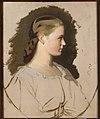 Artur Grottger - Portrait of Klementyna Szembek née Dzieduszycka, sketch - MP 2425 MNW - National Museum in Warsaw.jpg