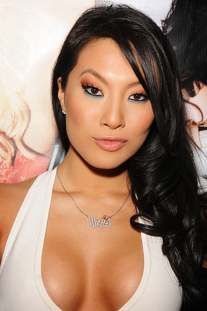 30th AVN Awards - Asa Akira, winner of the 2013 AVN Female Performer of the Year Award