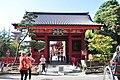 Asakusa - Senso-ji 102 - Nitenmon Gate (15783950465).jpg