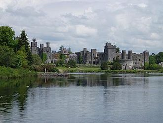 Ashford Castle - Image: Ashford Castle From Lough