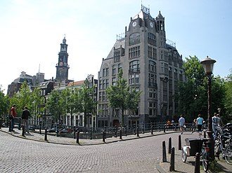 Gerrit van Arkel - Astoria building, Keizersgracht 174-176 (1904/1905)