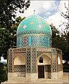 Attar's mausoleum هفت شهر عشق را عطار گشت - panoramio.jpg