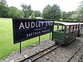Audley End Railway station sign.jpg