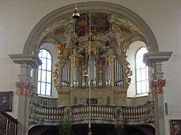 Augsburg Evangelisch Heilig Kreuz Orgel