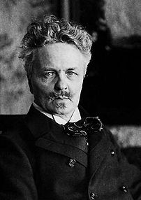 August Strindberg, one of the most influential...
