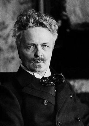 History of Swedish - August Strindberg, often considered to be the founder of modern Swedish literature.