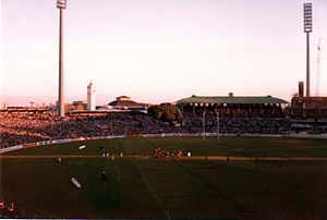1979 Ireland rugby union tour of Australia - Ireland line-out, second Test