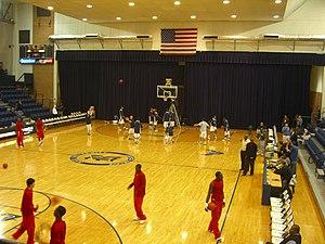Rice Owls men's basketball - Tudor Fieldhouse, before the 2008 renovations.