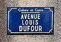 Avenue Louis Dufour (Caluire-et-Cuire) en juillet 2019 (panneau).jpg