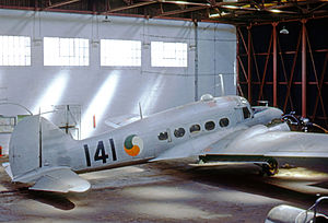 Irish Air Corps - Air Corps Avro Anson C.19 operated from 1946 until 1962
