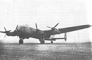 Eine Avro 691 Lancastrian