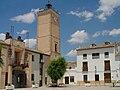 Ayuntamiento y Torre del Reloj de Fuentidueña de Tajo.jpg