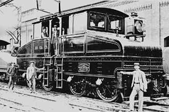 Baltimore & Ohio electric engine B-and-O electric.jpg