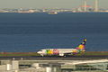 B737-400 take off (Tokyo international airport RWY 34R) (263393889).jpg