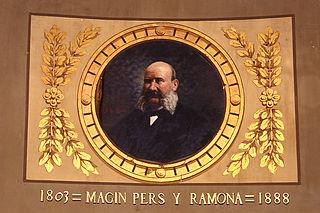 Portrait of Magin Pers Y Ramona