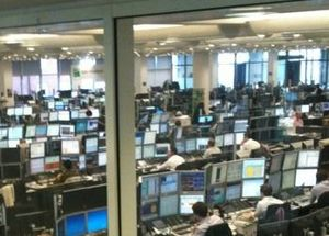 BNP Paribas - One of BNP Paribas' London Trading Floors.