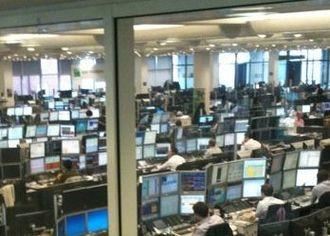 BNP Paribas - One of BNP Paribas' London Trading Floors.