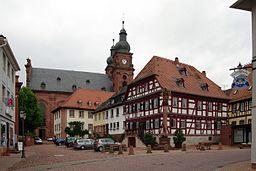 Amorbach St. Gangolf, Marktplatz