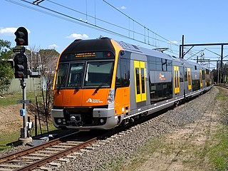 Airport & South Line rail service in Sydney, New South Wales, Australia