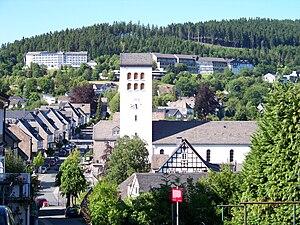 Bad Fredeburg - Image: Bad Fredeburg (Schmallenberg)