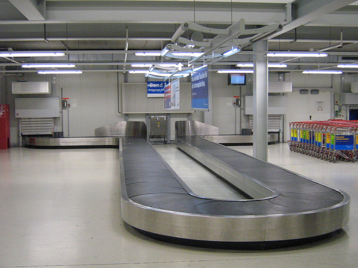 Airport Baggage Handling Scan : Baggage carousel wikipedia