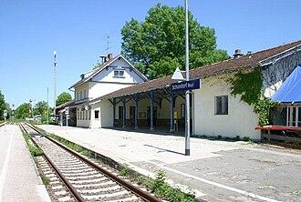 """Schondorf - Station """"Schondorf"""""""