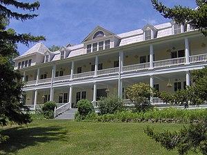 Balsam Mountain Inn - Image: Balsam mountain inn nc 1