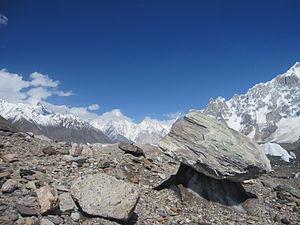 Baltoro Glacier - Image: Baltoro Glacial Mushroom