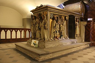 Otto of Bamberg - Otto's tomb in the Michaelsberg Abbey Church